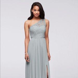 David's Bridal Bridesmaid Dress: MYSTIC SIZE 10